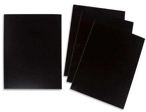 speciaal krijtbord papier a4 gelamineerd herbruikbaar stempelfun stempels maken en graveren. Black Bedroom Furniture Sets. Home Design Ideas