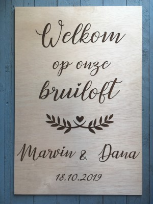 welkom wedding